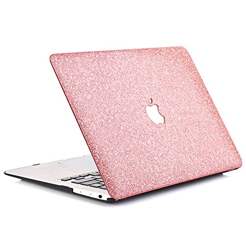 B BELK - MacBook 12'' with Retina Display Case,2 In 1 Bling Crystal Smooth Ultra-Slim Light Weight PC Hard Case With Keyboard Cover For MacBook 12 Inch(Model:A1534) - Shining Rose Golden by B BELK (Image #2)