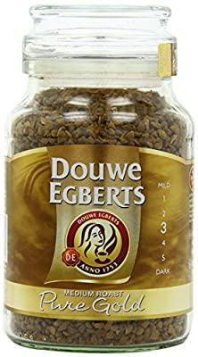 Douwe Egberts Pure Gold Instant Coffee, Medium Roast from Douwe Egberts
