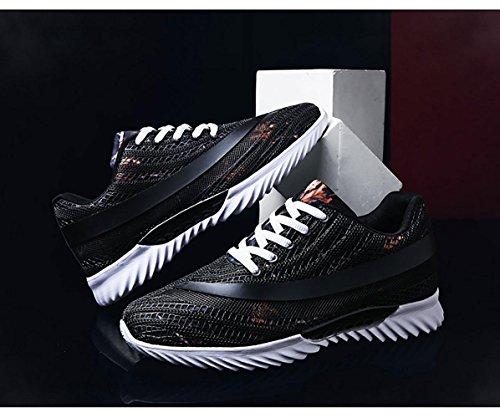 Respirant Surface maille de Motif black Hommes Chaussures camouflage Mouvement Chaussures de Courir UqFxgA