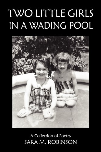 Two Little Girls in a Wading Pool (a Collection of covid 19 (White Wading Pool coronavirus)