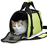 marsboy Portable Pet Carrier Airline Approved Under Seat Travel Pet Carrier ...