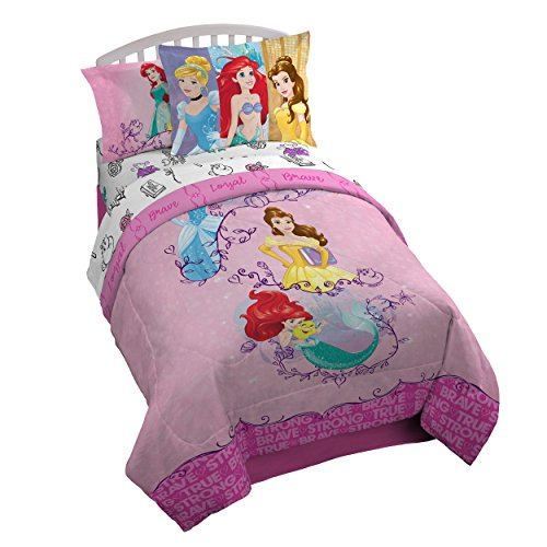 Disney Princess Friendship Adventures 5 Piece Twin Bed In A - Sets Bedding Princess