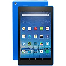 "Fire HD 8 Tablet, 8"" HD Display, Wi-Fi, 8 GB - Includes Special Offers, Blue (Previous Generation - 5th)"