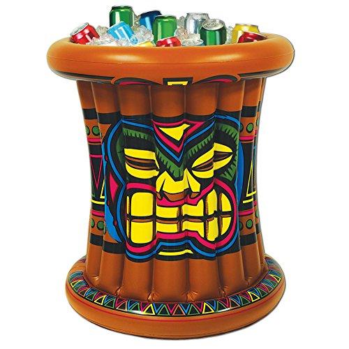[Inflatable Tiki Hawaiian Luau Party Buffet Inflatable Cooler] (Tiki Costumes)