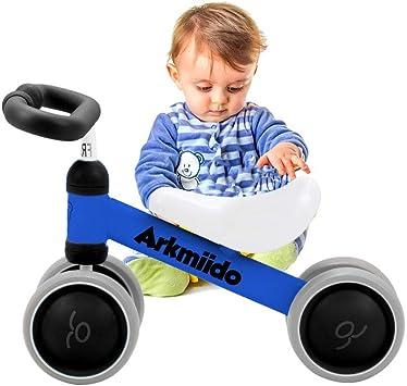 Bicicleta Bebé Equilibrio, Baby Balance Bicicleta, Bicicleta Bebé sin Pedales Juguetes Bebes 1-3 años (Azul): Amazon.es: Juguetes y juegos