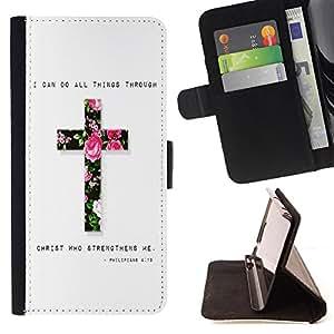 - Jesus My God - - Monedero PU titular de la tarjeta de cr?dito de cuero cubierta de la caja de la bolsa FOR Sony Xperia Z2 D6502 Retro Candy