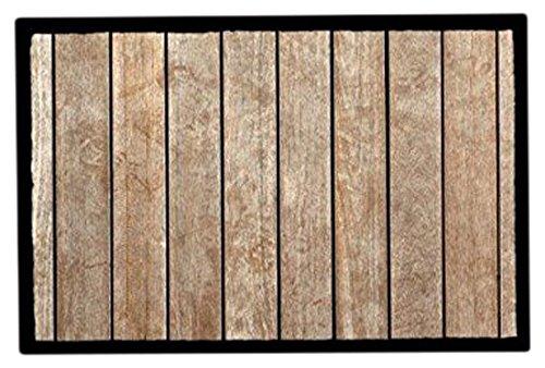 Achoka Welcome 78 Paillasson Polyester Imprimé 60 x 40 x 1 cm