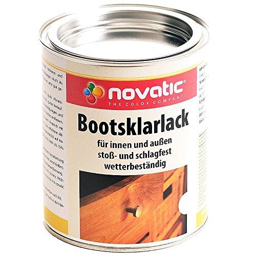 Novatic Bootsklarlack transparent glänzend 375ml