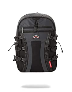 SPRAYGROUND BACKPACK BLACK 3M REFLECTIVE NOMAD