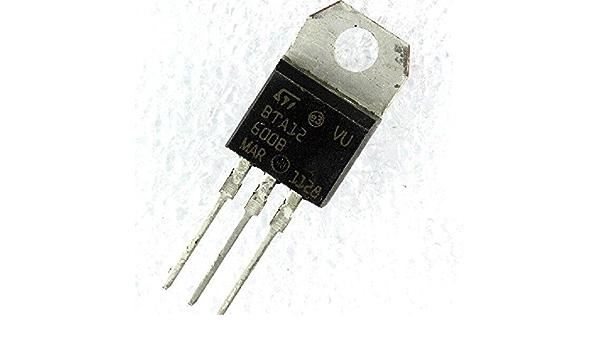 10 pcs BTB12-600C  STM  Triac  600V  12A  25mA  TO220  NEW  #BP