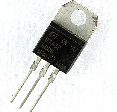 Price comparison product image Quickbuying 2PCS BTA12-600B BTA12-600 Triac SGS-Thomson 600V 12A