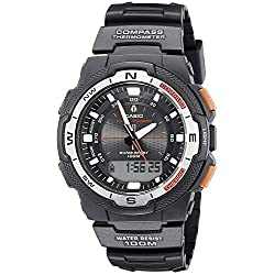 CASIO Sports Gear Twin Sensor Digital Watch Men's SGW-500H-1BV1J [Reverse Imports]