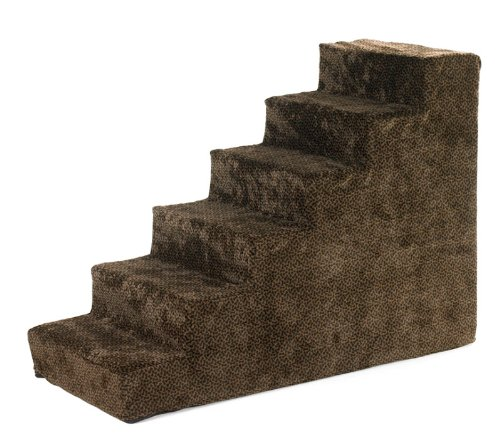 Bowsers Designer Pet Steps, Chocolate Bones, 6 steps by Bowsers