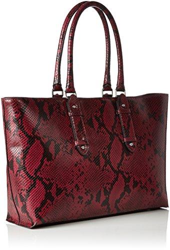 Sacs Emporio Shopping Épaule Rouge Portés Borsa Armani burgundy vttqg
