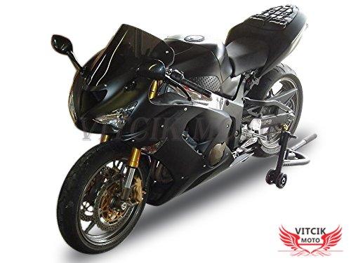 VITCIK (Fairing Kits Fit for Kawasaki ZX6R ZX-6R Ninja 636 2005 2006 ZX6R Ninja 636 05 06) Plastic ABS Injection Mold Complete Motorcycle Body Aftermarket Bodywork Frame (Black) A081