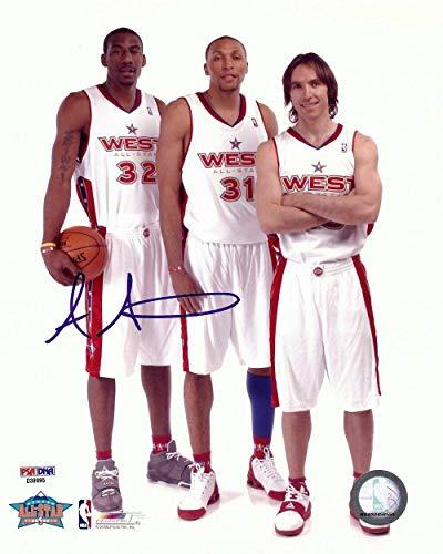 Amar'e Stoudemire Autographed Photograph - Amare 8X10 All Star - PSA/DNA Certified - Autographed NBA Photos
