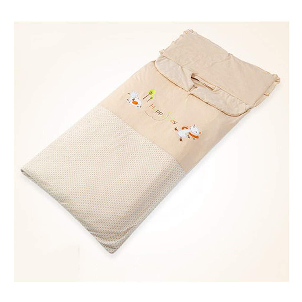 AUGAUST Babyschlafsackherbst- und -winterkinderschlafsackbaby Anti-Trittsteppdecke großer Kinderschlafsack (Farbe   B, größe   60  100cm)