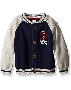 Carter's Baby Boys' Knit Varsity Jacket (Baby)