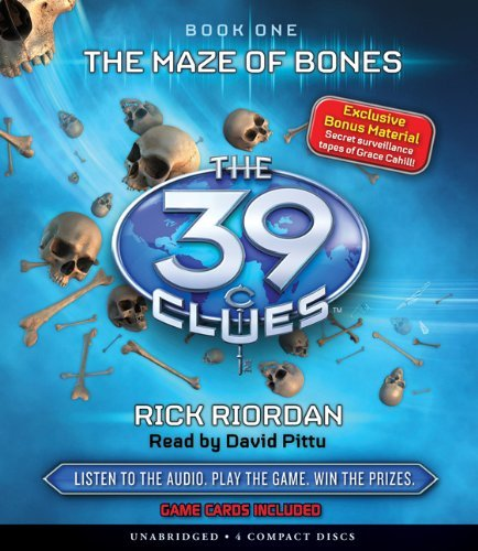 39 clues audio cd - 3