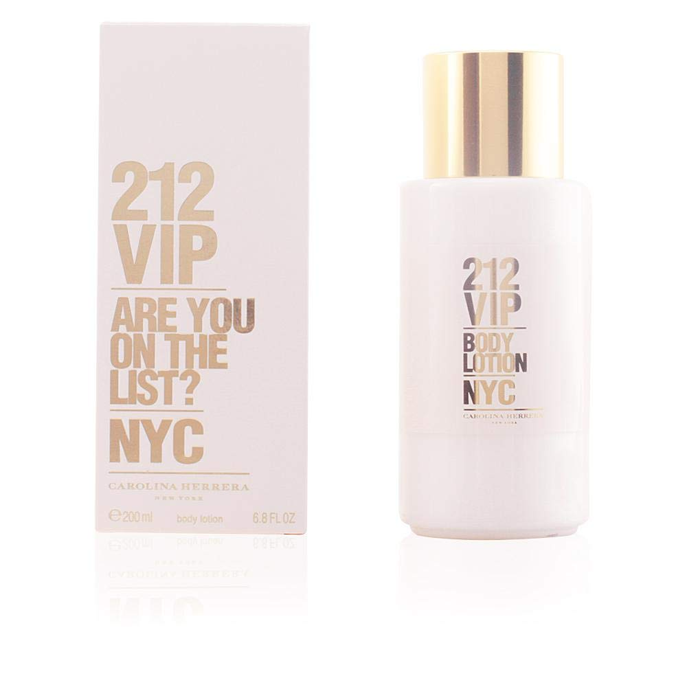 Carolina Herrera 212 Vip Loción Hidratante Corporal 200 ml: Amazon.es