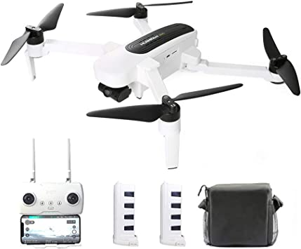 Opinión sobre Goolsky H117S Zino RC Drone GPS 5G WiFi FPV 4K UHD Cámara de 3 Ejes Gimbal Quadcopter con Bolsa de Almacenamiento Cargador para Auto de Repuesto Hélice (2 * batería)