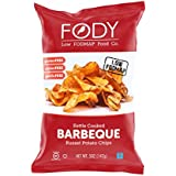 Fody Food Co, Kettle Cooked BBQ Chips, Low FODMAP and Gut Friendly, Gluten and Lactose Free, Garlic and Onion Free