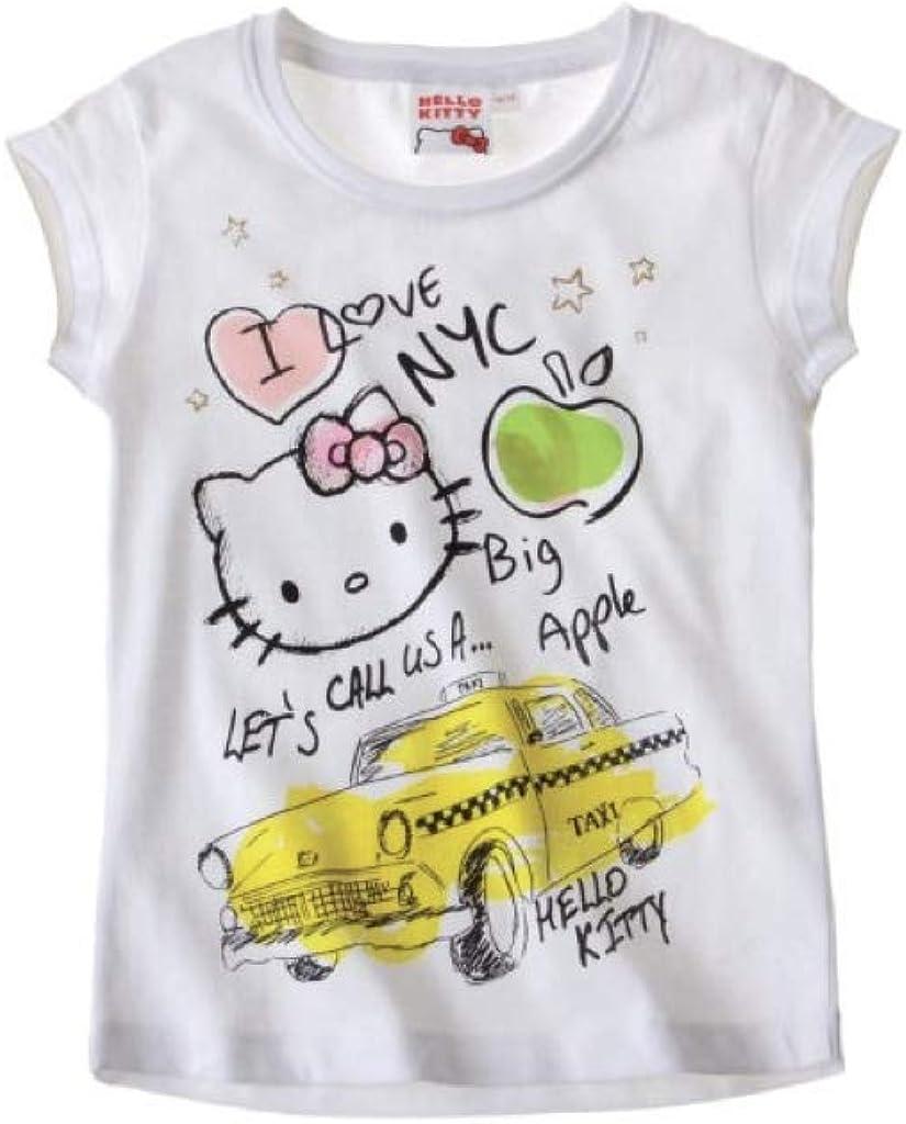 Hello Kitty Doble Pack Camiseta de Color Blanco: Amazon.es: Ropa y accesorios