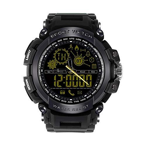 Alloet DX16 BT4.0 Outdoor Sports Smart Watch 50ATM Waterproof Wristwatch (Black) by Alloet