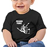 Grand Funk Railroad Band Singer Max Carl Print Newborn Clothes