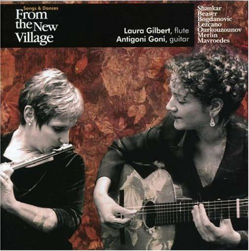 Cover of Songs and Dances from the New Village for Flute & Guitar