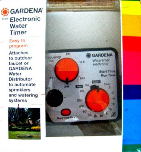 Gardena Electronic Water Timer Modei 31229