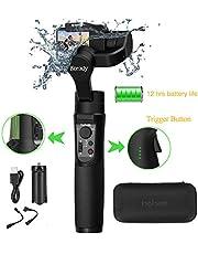 Hohem iSteady Pro 2 3 Achsen Splash Proof Handheld Gimbal Stabilisator Action Kameras Gimbal kompatibel mit DJI Osmo Action,GoPro 2018 7/6/5/4/3, RX0, AEE, SJCAM, YI-CAM, Zeitraffer, 12 Stunden