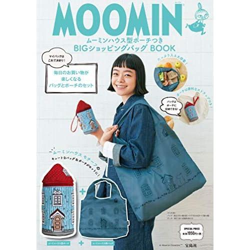 MOOMIN ショッピングバッグ BOOK 画像