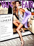 Vanity Fair Magazine (September, 2007) Gisele Bundchen Cover