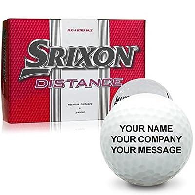 Srixon Distance Personalized Golf Balls