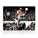 Ian Wright Signed Arsenal Soccer Photo: The Perfect Touch | Autographed Sport Memorabilia