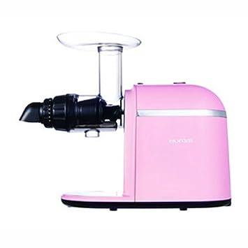 Hurom Chef GH Serie eléctrica Verde Juice Extractor Exprimidor con molido colador y guía de inglés rápido Rosa: Amazon.es