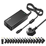 Outtag 65W Universal Laptop Charger UK Plug AC Adapter Power Supply 15v-20V PSU Replacement for Lenovo Asus Acer Dell HP Toshiba Sony IBM Samsung Fujitsu Hitachi Automatic Voltage w/ 16 Connectors