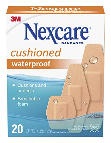 Nexcare Waterproof Cushioned Bandages