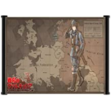 "Valkyria Chronicles Video Game Fabric Wall Scroll Poster (28"" x 16"") Inches"