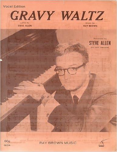 Lataa ilmaiset ebooks pda Gravy Waltz (Vocal Edition) ~ Recorded by Steve Allen on Dot Records (Sheet Music) in Finnish PDF MOBI