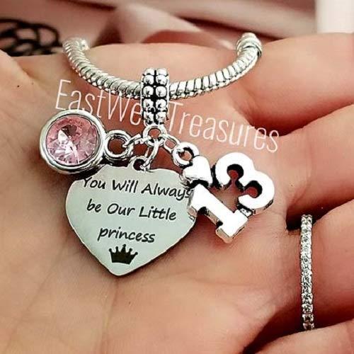 Amazon 13th Birthday Jewelry Gift Charm Bracelets