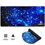 Large Gaming Mouse Pad Extended Mousepad Mouse Pat with Durable Stitched Edges Game Mouse Mat Ideal for Desk Cover, Computer Keyboard, PC and Laptop (30.7x11.8x0.12IN) (Star Sky)