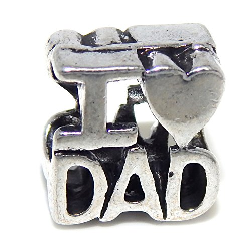 Silver Plated Love Bead Charm product image