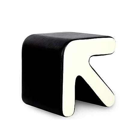 Super Amazon Com Lifex Artistic Style Leather Sofa Stool Arrow Bralicious Painted Fabric Chair Ideas Braliciousco