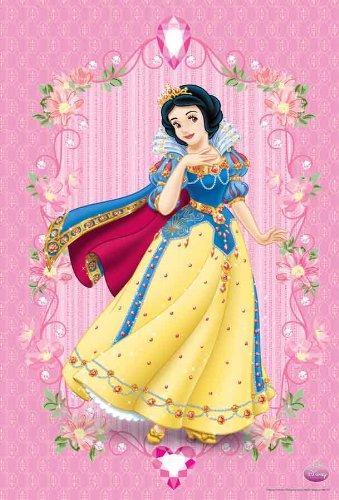 WM-547 Snow White Disney Princess Collection Kid Girl Cartoon Wall ...