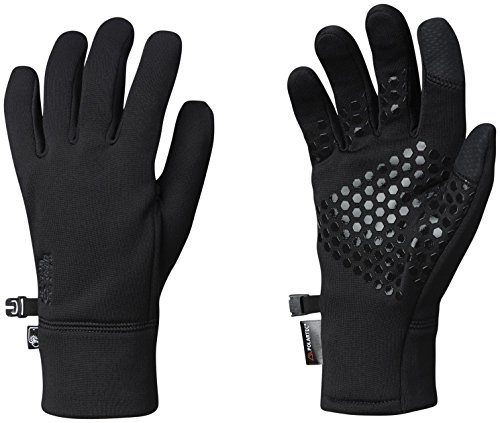 (Mountain Hardwear Unisex Power Stretch Stimulus Gloves Black)