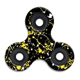 Spinner Squad High Speed & Longest Spin Time Fidget Spinners (Black & Yellow SPlatter)