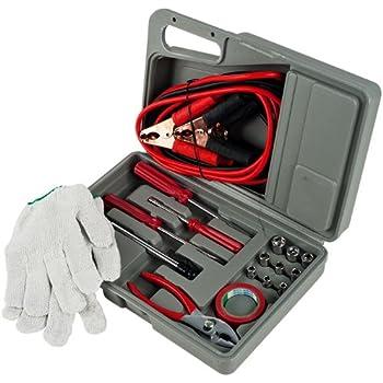 Stalwart Roadside Emergency Tool and Auto Kit – 30 Piece