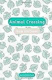Animal Crossing: New Horizons: Journal | Notebook - White & Green: Animal crossing journal, notebook, bullet